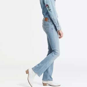 LEVI'S 715 GREAT COND RIPPED KNEE DESTROY BOOTCUT